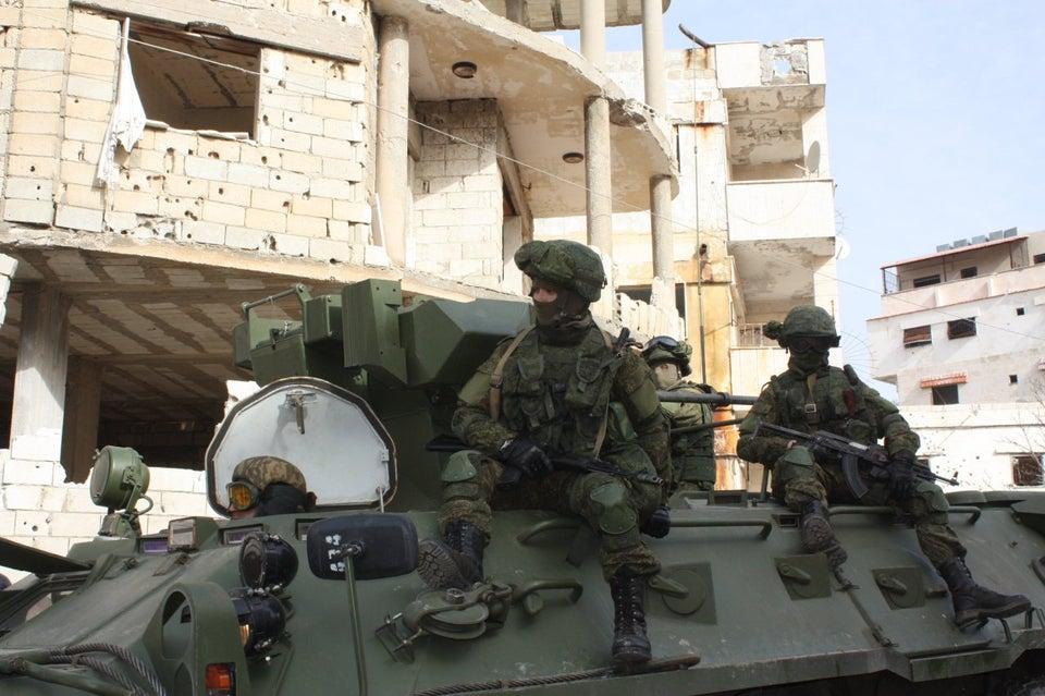 Truppe dell'esercito russo in Latakia, Siria